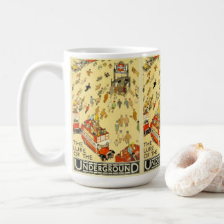 The Lure of the Underground, London Coffee Mug