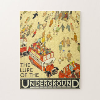 The Lure of the Underground, London Jigsaw Puzzle