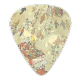 The Lure of the Underground, London Pearl Celluloid Guitar Pick