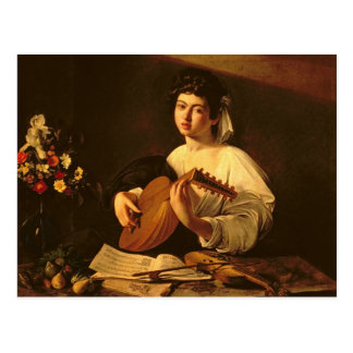 The Lute Player, c.1595 Postcard