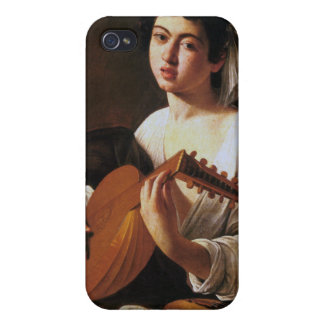 The Lute Player, Caravaggio iPhone 4 Cover