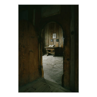 The Luther Room in the Wartburg Castle Poster