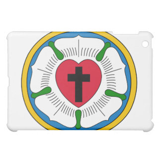 The Luther Rose Lutheranism Martin Luther iPad Mini Covers