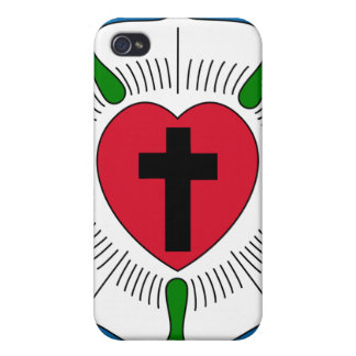 The Luther Rose Lutheranism Martin Luther Cases For iPhone 4