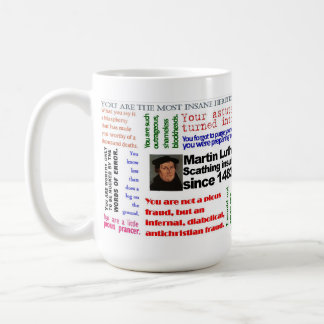 The Lutheran Insult Mug