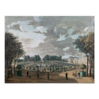 The Luxembourg Gardens Poster