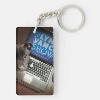 The Lynn Vance Show double sided dogs Keychain