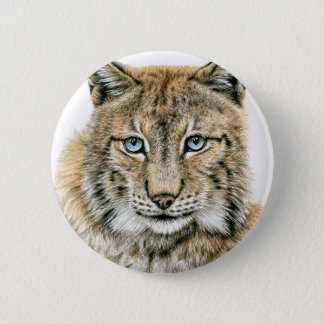 The lynx - The Lynx 2 Inch Round Button