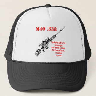 The M40 The Perfect Gift For The Scout-Sniper Trucker Hat