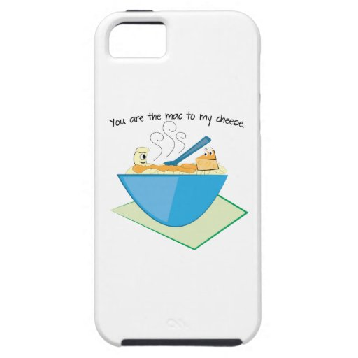The Mac To My Cheese iPhone 5 Covers
