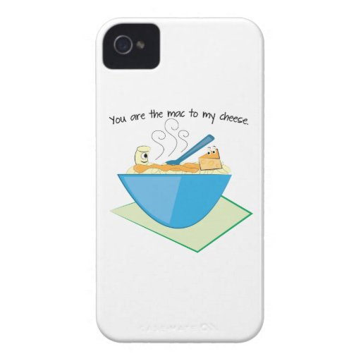 The Mac To My Cheese Case-Mate iPhone 4 Cases