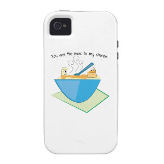 The Mac To My Cheese iPhone 4 Cover