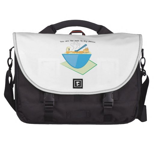 The Mac To My Cheese Laptop Commuter Bag