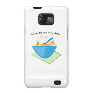 The Mac To My Cheese Samsung Galaxy SII Cover