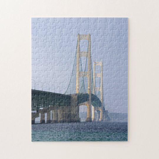 The Mackinac Bridge Jigsaw Puzzle