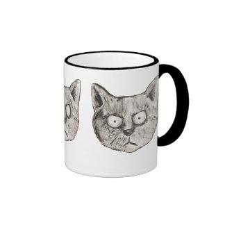 The mad cat ringer coffee mug