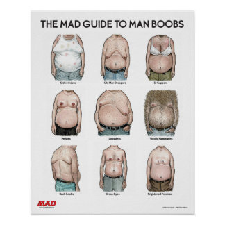 The MAD Guide to Man B**bs Poster