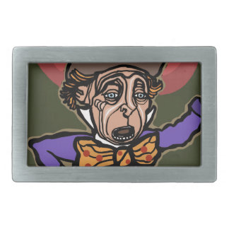 The Mad Hatter Belt Buckle