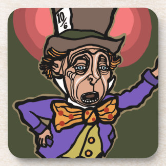 The Mad Hatter Coasters