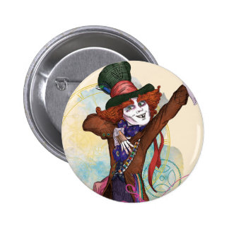 The Mad Hatter | I am NOT an Illusion 2 Inch Round Button