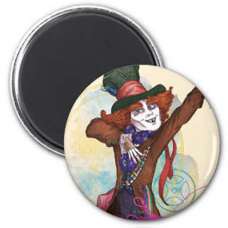 The Mad Hatter | I am NOT an Illusion 2 Inch Round Magnet