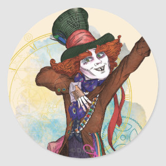 The Mad Hatter | I am NOT an Illusion Classic Round Sticker