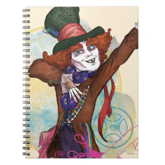 The Mad Hatter | I am NOT an Illusion Notebooks