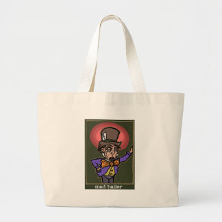 The Mad Hatter Large Tote Bag