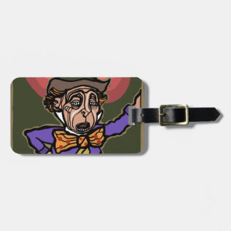 The Mad Hatter Luggage Tag