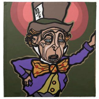 The Mad Hatter Napkin
