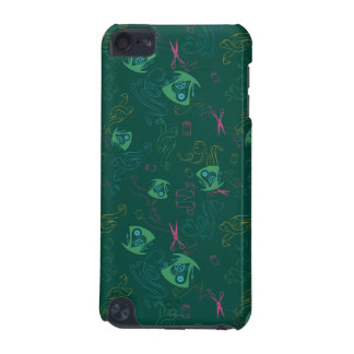 The Mad Hatter Pattern iPod Touch 5G Covers
