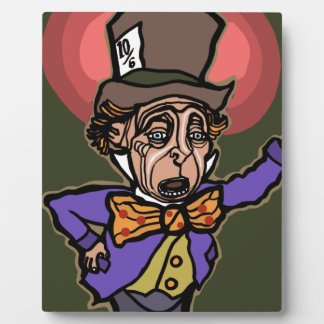 The Mad Hatter Plaque