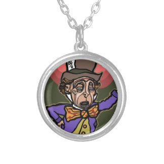 The Mad Hatter Silver Plated Necklace