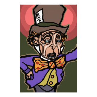 The Mad Hatter Stationery