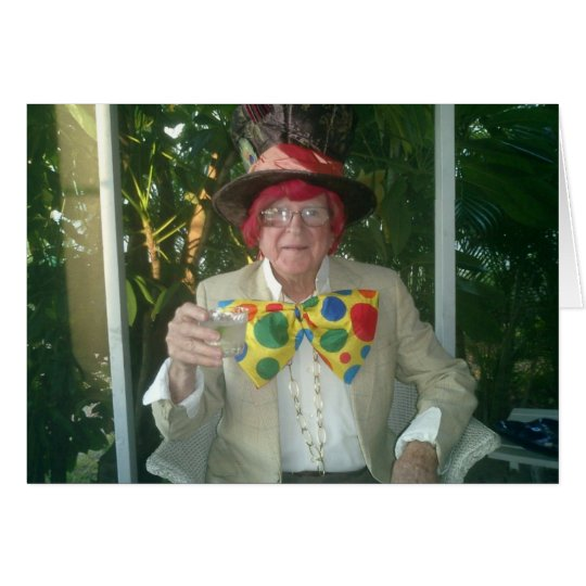 The Mad Hatter, William Crosland, Halloween 2012 Card