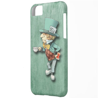 The Mad Hatter with a Cup of Tea iPhone 5C Cases
