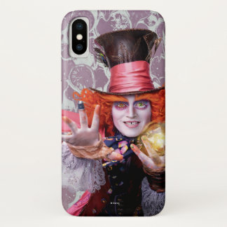 The Mad Hatter   You're all Mad 2 iPhone X Case