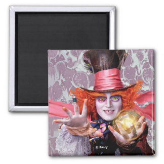 The Mad Hatter | You're all Mad Square Magnet