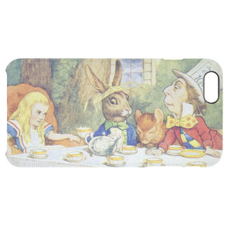 The Mad Hatter's Tea Party Clear iPhone 6 Plus Case