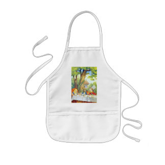 The Mad Hatters Tea Party Full Color Kids Apron