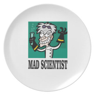 the mad scientist yeah plate