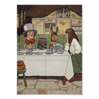 The Madhatters Tea Party Poster