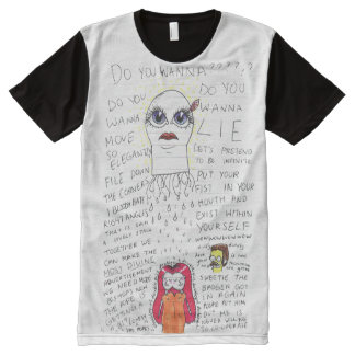 The Madness of Queen George All-Over-Print T-Shirt