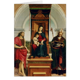 The Madonna and Child Card