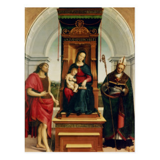 The Madonna and Child Postcard