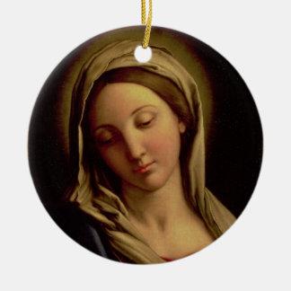 The Madonna Ceramic Ornament