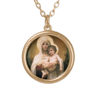 The Madonna of the Roses Necklace