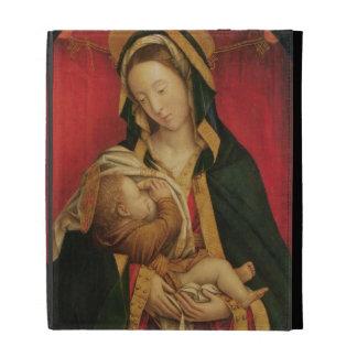 The Madonna Suckling her Child, 1520-30 (oil on pa iPad Folio Case