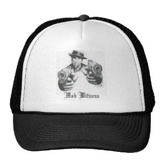 the mafia, Mob Witness Trucker Hat