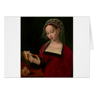 The Magdalen reading by Ambrosius Benson Card